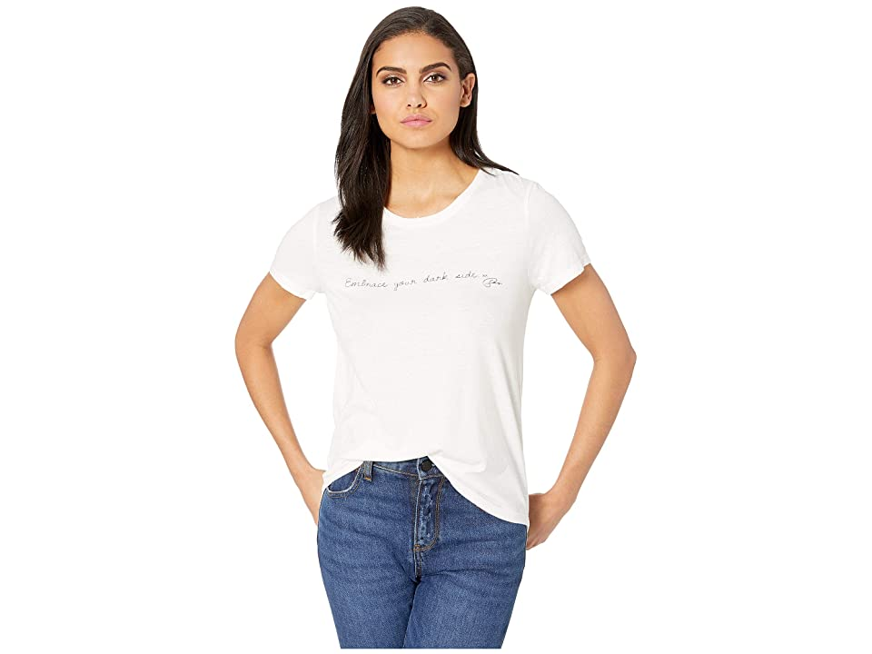Paige Bexley Tee City of Angels Graphic (White) Women