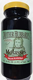 Mother Hubbard's Organic Blackstrap Molasses, 16 Ounce