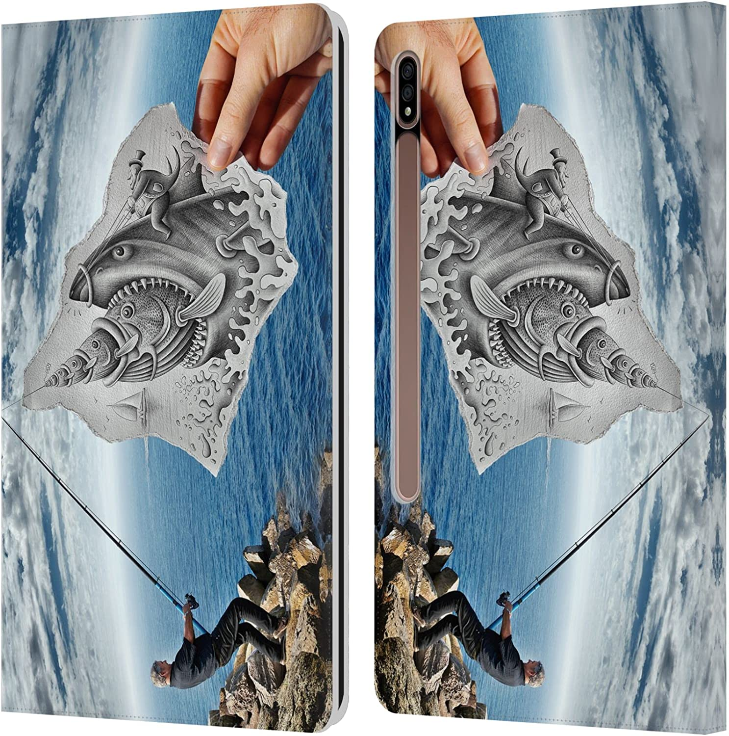 Head Case Designs Officially Licensed Pencil Ben Fishing V Max 82% OFF Heine Time sale