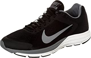 Men's Zoom Structure 17, Black/Reflect Silver/Cool Grey-Summit White, 6 M US