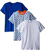 Trimfit - Football Cotton T-Shirts 3-Pack (Toddler/Little Kids/Big Kids)