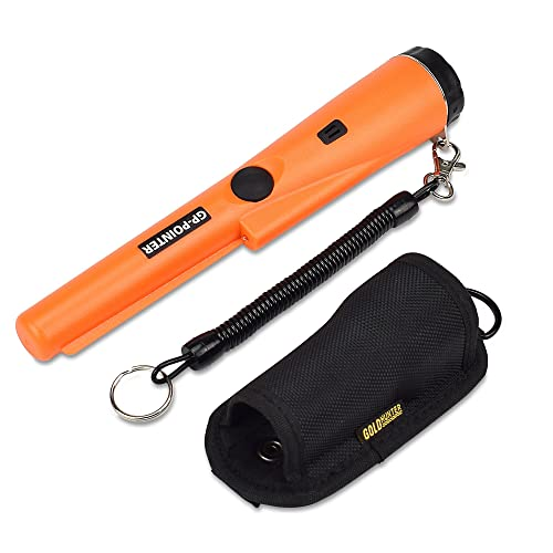 PiscatorZone Metal Detector Portable Handheld GP-Pointer Treasure Finder with High Sensitivity for Locating Gold
