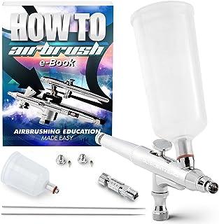 PointZero Gravity-Feed 2cc and 4cc Airbrush Set (.2mm .3mm .5mm)