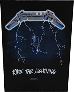 Metallica Ride the Lightning Giant Back Patch (Official Licensed Product)