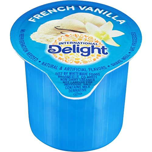 International Delight Classic French Vanilla Flavored Gourmet Coffee Creamer - Aseptic Pack -- 192 per case.