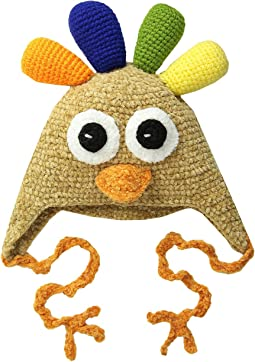 DL2526 Hand Crochet Turkey Hat (Infant/Toddler/Little Kids)