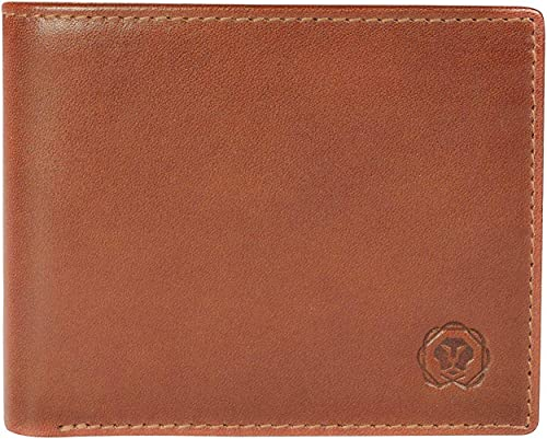 Cognac Men s Wallet Stylish Genuine Leather Wallets for Men Latest Gents Purse with Money Coin and Card Holder Compartment AC1208072 1 24