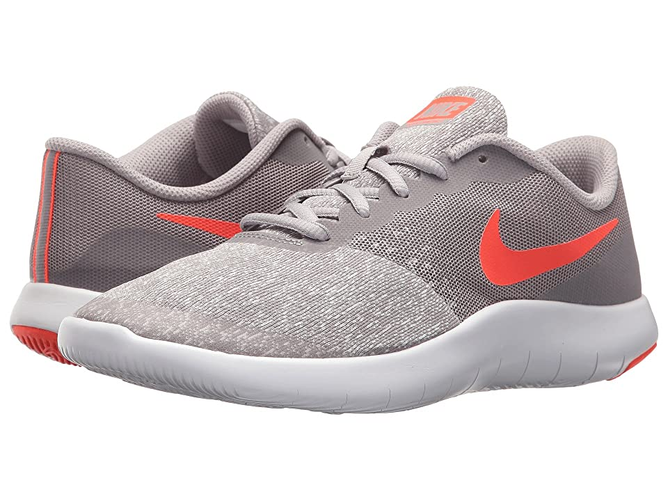 Nike Kids Flex Contact (Big Kid) (Atmosphere Grey/Total Crimson/Vast Grey) Boys Shoes