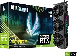 ZOTAC Gaming GeForce RTX 3090 Trinity OC 24GB GDDR6X 384-bit 19.5 Gbps PCIE 4.0 Gaming Graphics Card, IceStorm 2.0 Advance...