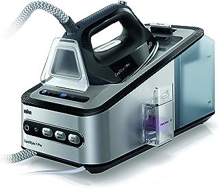 BRAUN 博朗CareStyle 7 IS 7156 Pro蒸汽熨斗 | 2400瓦 | 7.5bar气压 | 出蒸汽量:500克/分钟 | 可拆卸的2升水箱 | 织物呵护 | 功能环保 | 灰/黑/紫