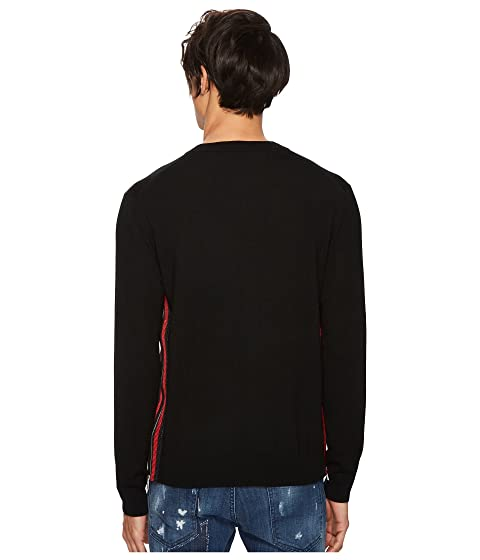 DSQUARED2 Side DSQUARED2 Side Zipper Sweater Zipper Side Zipper DSQUARED2 Sweater Z0PXw