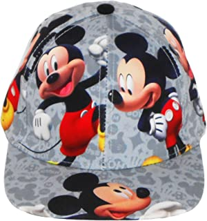 Disney Mickey Mouse Boys Baseball Cap with Mickey Images