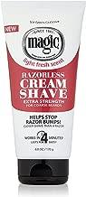 Razorless Shaving Cream for Men by SoftSheen-Carson Magic, Hair Removal Cream, Extra..