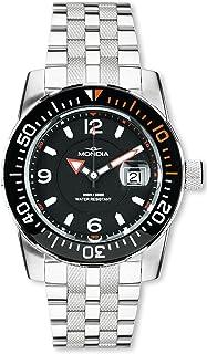 Mondia Wave Mens Analog Quartz Watch with Stainless Steel Bracelet 1-690-2