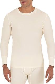 Men Gents Thermal Long Sleeve Shirt Top Warm Winter Long John Vest T-Shirt S-2XL