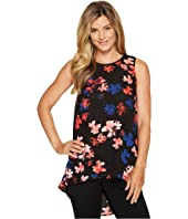Vince Camuto - Sleeveless Ballard Floral High-Low Hem Blouse