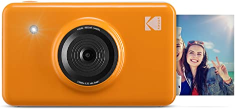 Kodak Mini Shot Wireless Instant Digital Camera & Social Media Portable Photo Printer, LCD Display, Premium Quality Full C...