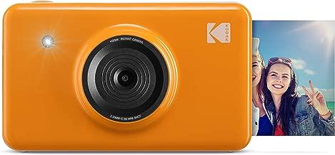 Kodak Mini Shot Wireless Instant Digital Camera & Social Media Portable Photo Printer, LCD Display, Premium Quality Full Color Prints, Compatible w/iOS & Android (Yellow)