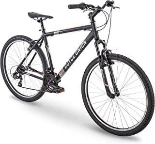 "27.5"" Royce Union RMT Mens 21-Speed All-Terrain Mountain Bike, 22"" Aluminum Frame, Twist Shift, Matte Black"