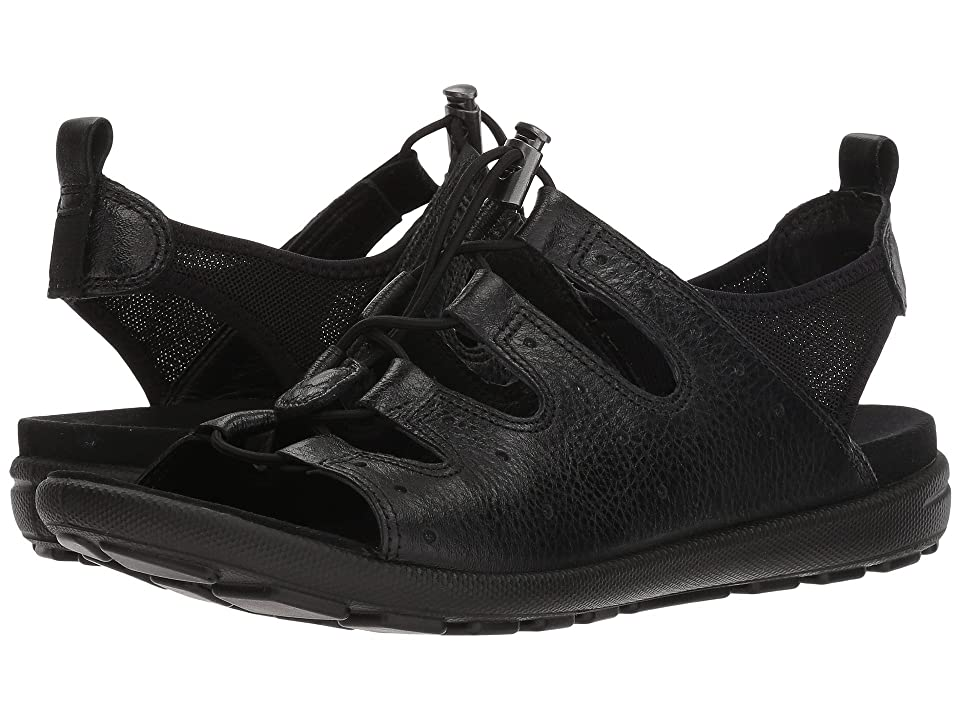 ECCO Jab Toggle Sandal (Black) Women
