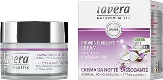 lavera Crema nocturna Facial - ácido hialurónico - vegano ✔ cuidado facial biológico ✔ cosméticos naturales 100% certifica...