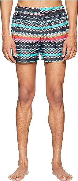 Mare Micro Zigzag Swim Shorts