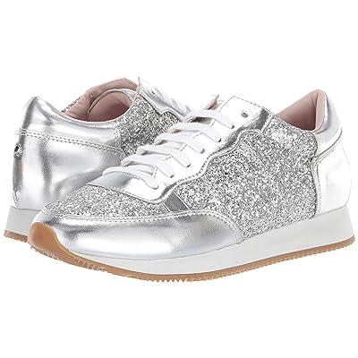 Kate Spade New York Felicia Sneaker (Silver Glitter) Women