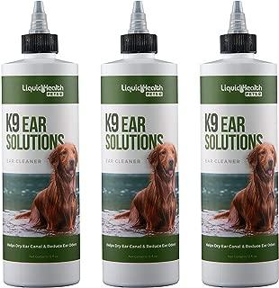 For Animals K9 Ear Solutions Liquid Health 12 oz Liquid (3-Pack)