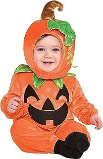 amscan Cute As A Pumpkin Infant Costume