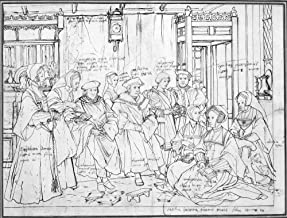 Sir Thomas More & Family Nenglish Author And Statesman Drawing By Hans Holbein The Younger Of Sir Thomas More (Center) And His Family C1526 Poster Print by (18 x 24)