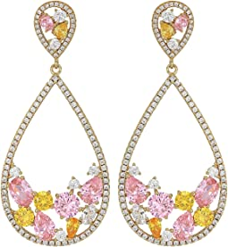 Gold/Pink/Yellow/White CZ