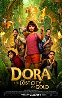 Dora and The Lost City of Gold Poster 11x17 Inch Promo Movie Poster