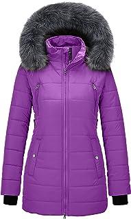 Women's Warm Winter Coat Thicken Puffer Jacket Quilted...