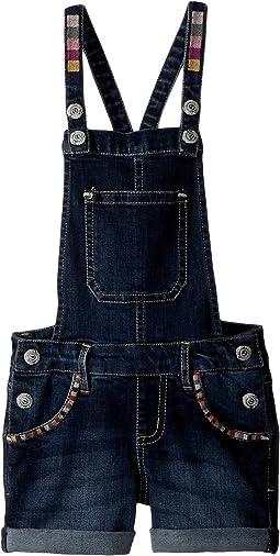 PEEK - Embroidered Shortall (Toddler/Little Kids/Big Kids)