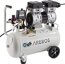 ACAMPTAR Kompressor 20mm Durchmesser Aussengewinde Intake Schalldaempfer Luftfilter Schwarz