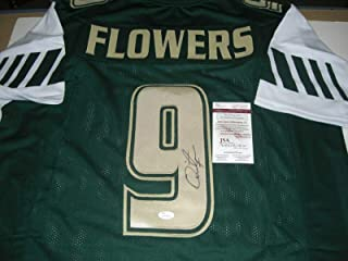 Signed Quinton Flowers Jersey - bengals! coa - JSA Certified - Autographed College Jerseys