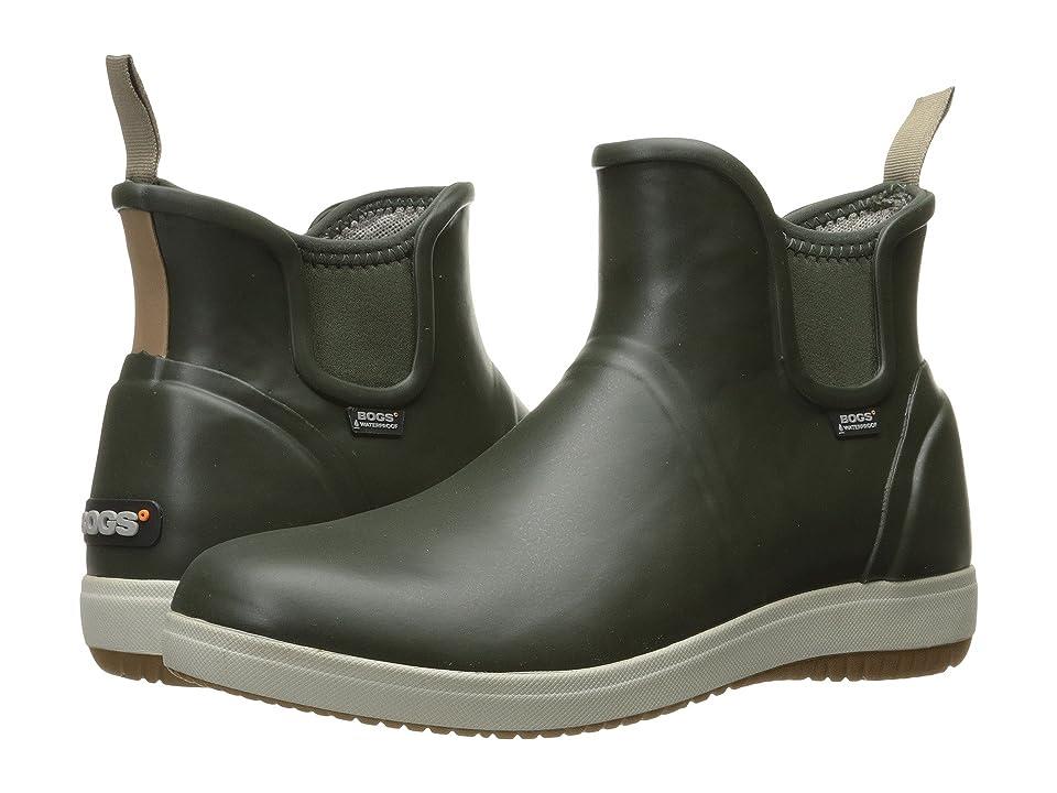 Bogs Quinn Slip-On Boot (Loden) Women