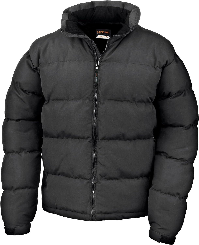 Result Men's Holkham Down Feel Jacket Black XXL