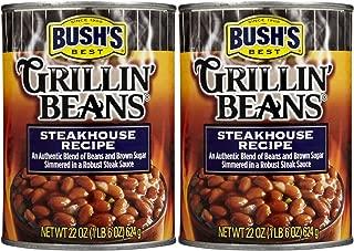 Bush's Steakhouse Recipe Beans, 22 oz, 3 pk