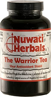 Nuwati Herbals - the Warrior Herbal Loose Tea Blend - Antioxidant Shield Against Free-Radicals, 6 Ounces