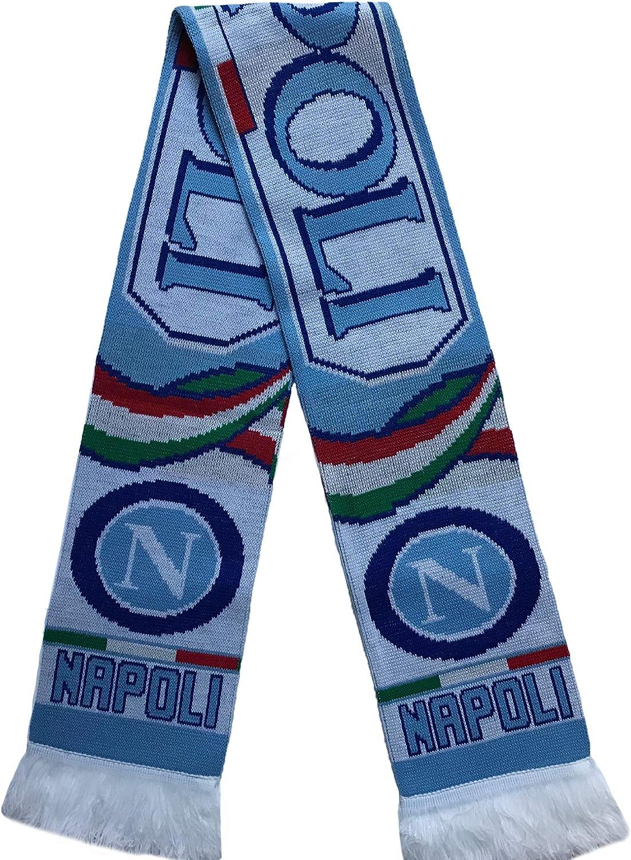 online shop Napoli Naples Soccer Fan Scarf Knit Acrylic Max 86% OFF Premium