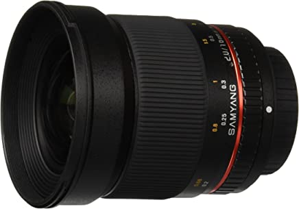 Samyang SY16M-S 16mm f/2.0 Aspherical Wide Angle Lens for Sony Alpha Cameras