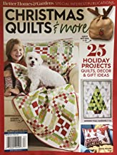 CHRISTMAS QUILTS & MORE SPECIAL EDITION 2018 BETTER HOMES GARDENS MAGAZINE