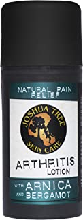 Joshua Tree Natural Pain Relief Arthritis Lotion with Organic Arnica and Bergamot