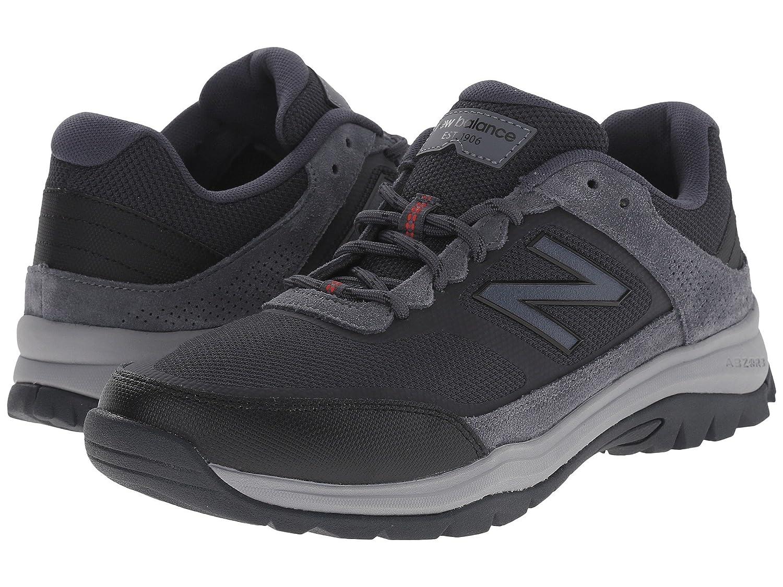 (ニューバランス) New Balance メンズウォーキングシューズ?靴 MW669v1 Grey/Red 10 (28cm) D - Medium