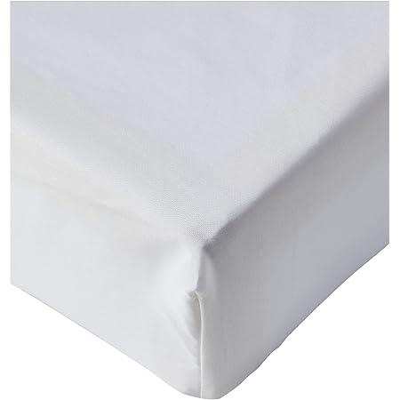 Amazon Basics Super King, Blanc, 180 x 200 x 30 cm