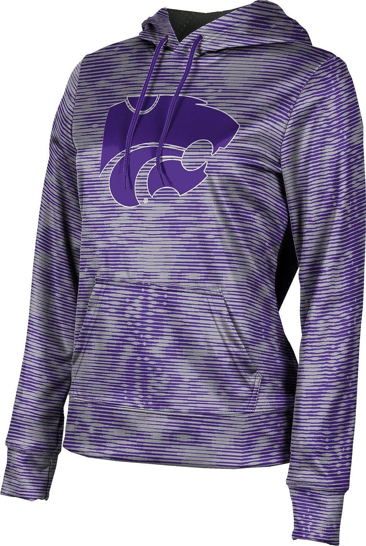 ProSphere Kansas State University Girls' Pullover Hoodie, School Spirit Sweatshirt (Velocity)