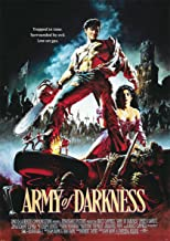 Instabuy Poster Army of Darkness Vintage Movie Poster - A3 (42x30 cm)
