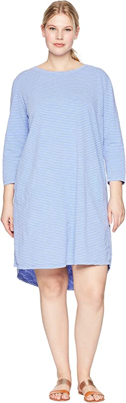 Extra Fresh by Fresh Produce - Plus Size Pinstripe Catalina Dress