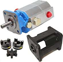 RuggedMade Hydraulic Log Splitter Build Kit - 13 GPM Pump, Small Engine Mounting Bracket, Coupler (for 3/4